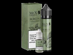 Mr. X Tobacco - Burley - 1,5mg/ml + 60ml Leerflasche