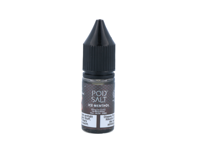 Pod Salt - Ice Menthol - E-Zigaretten Nikotinsalz Liquid 20mg/ml