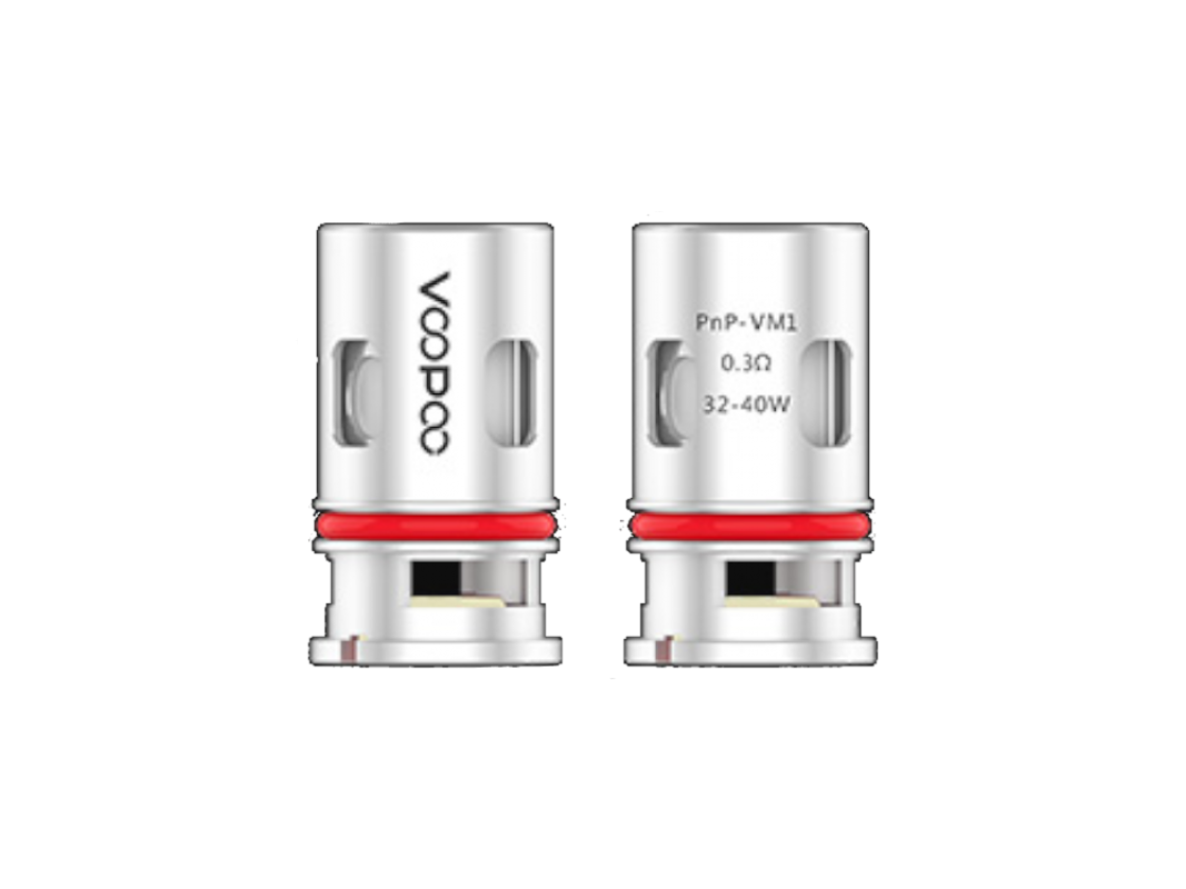 VooPoo PnP-VM1 0,3 Ohm Head (5 Stück pro Packung)